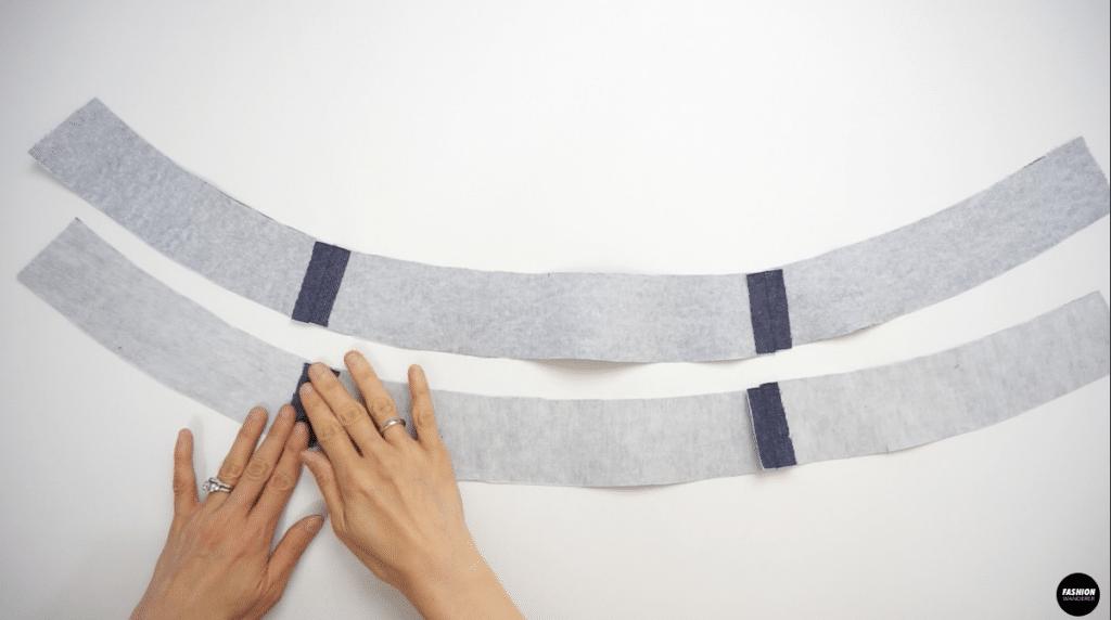 Interfacing on waistband