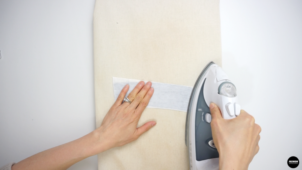 Iron fabric to apply interfacing