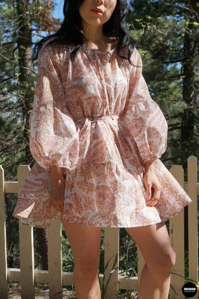 Maisey dress front