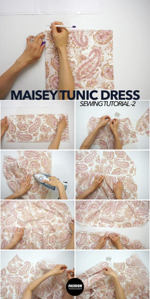 Ruffled tiers of Maisey dress
