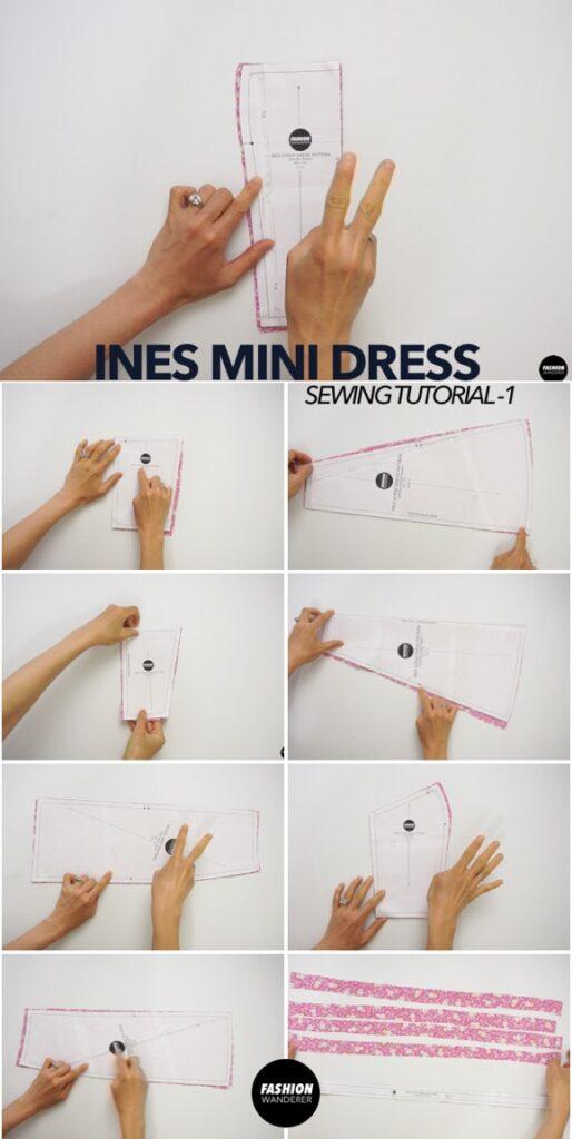 Ines dress sewing tutorial