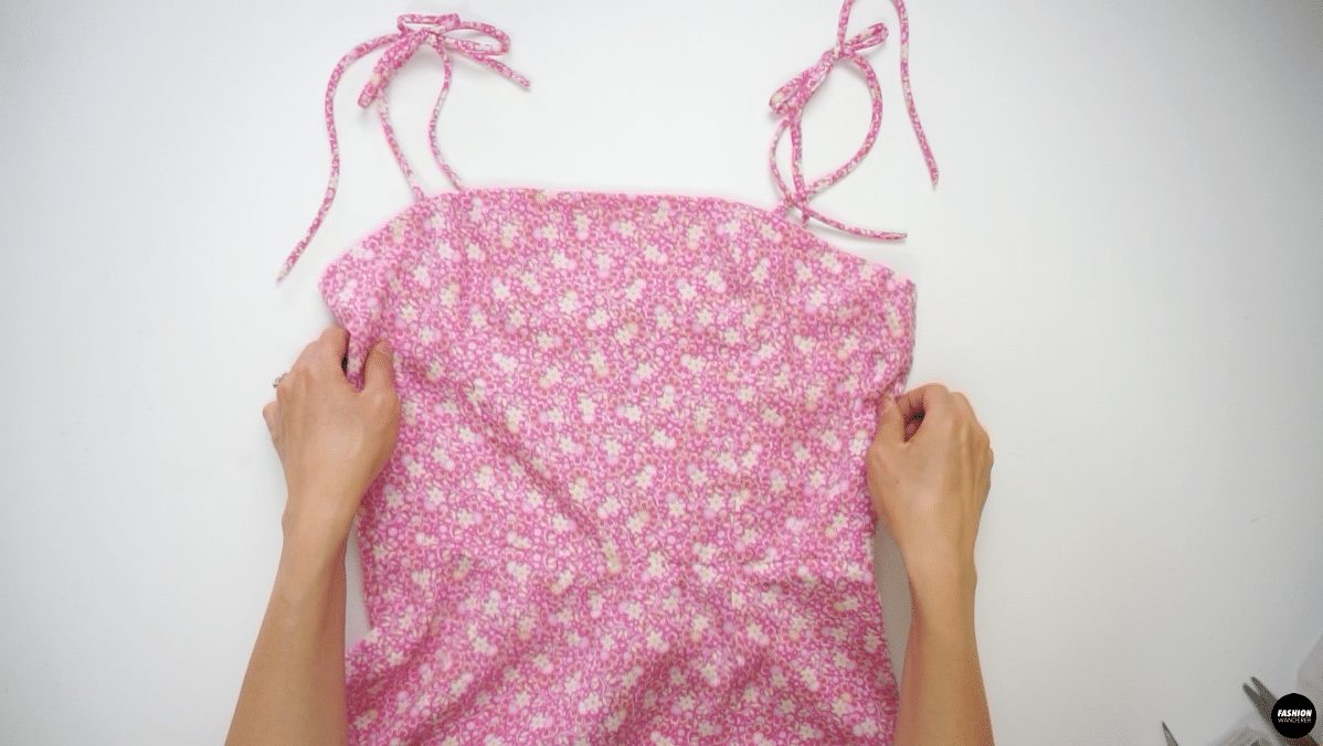 Finally, Give a nice press on the hem of the skirt, waist, and center back seam.