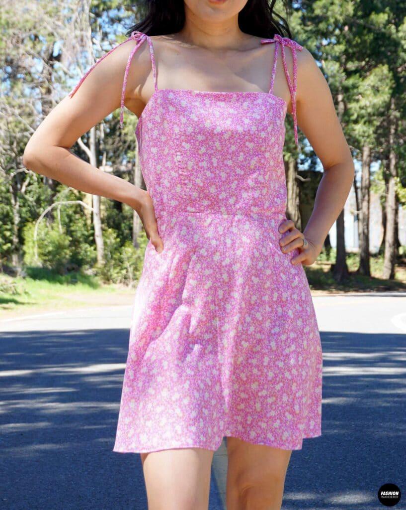 Ines mini dress front view