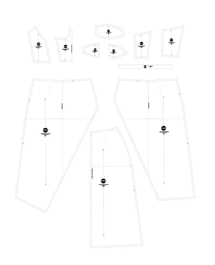 Vera dress sewing pattern