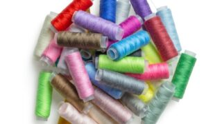 Choose thread that is lighter or darker than fabric