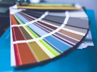Dressmaking color wheel