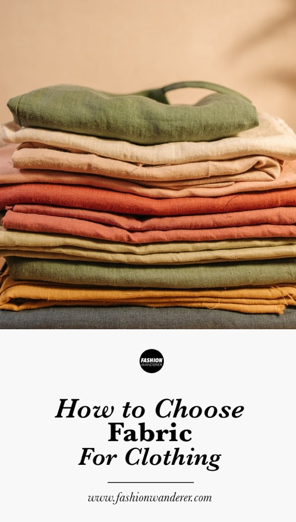 How to choose fabric for clothing