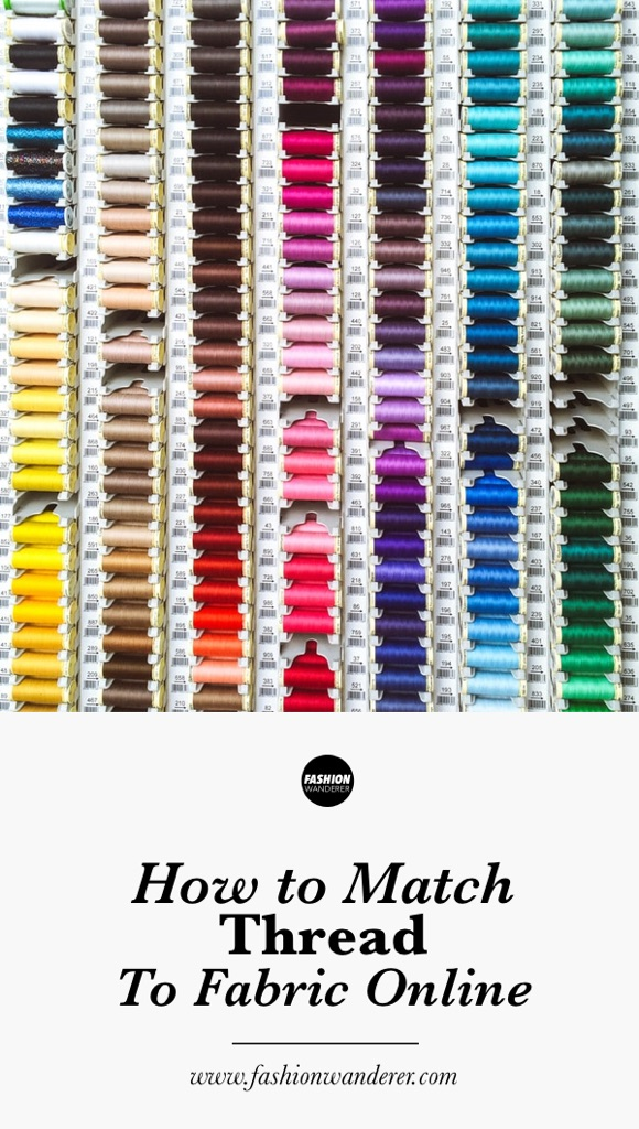 How to match thread to fabric online