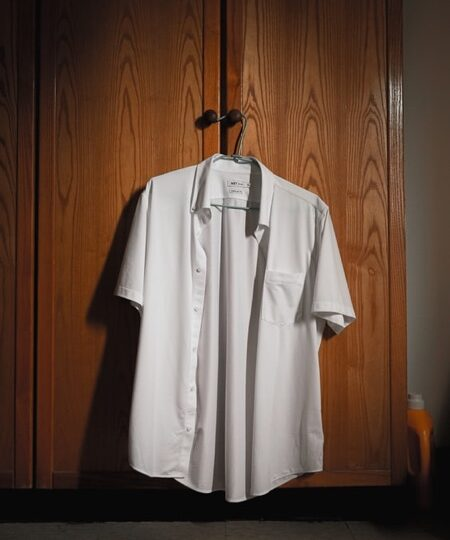 Best way to shrink button down shirt