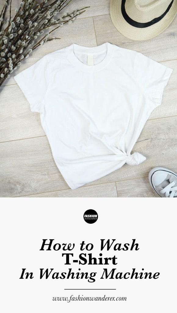How to wash t-shirt in washing machine