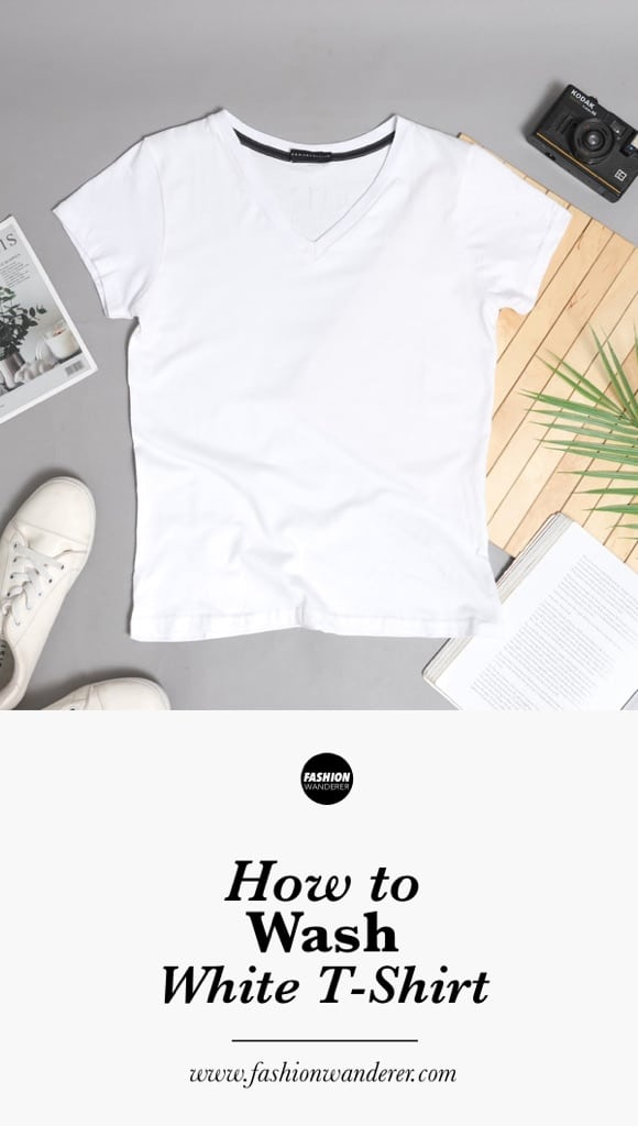 How to wash white t-shirts